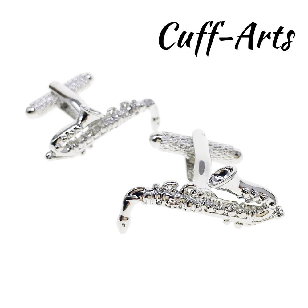 Cufflinks for Men Saxophone Gifts Gemelos Les Boutons De Manchette by Cuffarts C10400