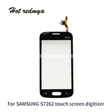 1Pcs For Samsung Star Pro S7262 7262 GT-S7262 S7260 7260 GT-S7260 Digitizer Touch Screen Glass Screen Replacement