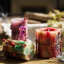 Creative Cylindrical Scented Candle And Home Living Room Smoke-Free Environmentally Friendly Romantic Wedding Proposal Candle