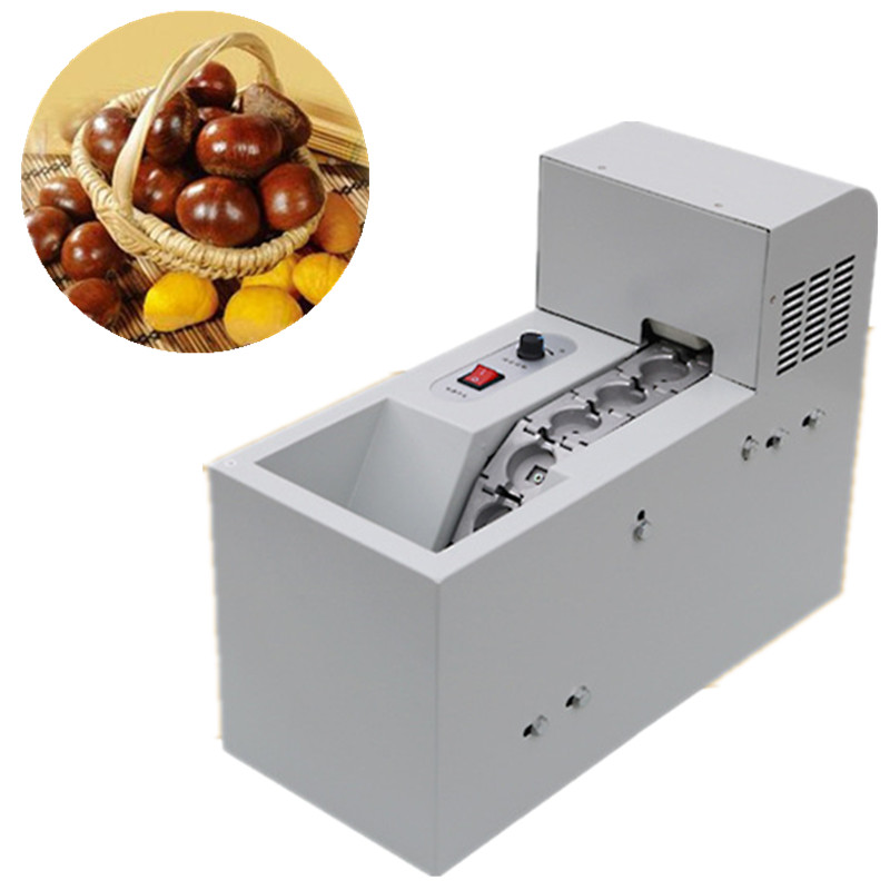 Industrial chestnut mouth opening machine electric chestnut shell cutting machine nuts incision machine шатура леон joy chestnut
