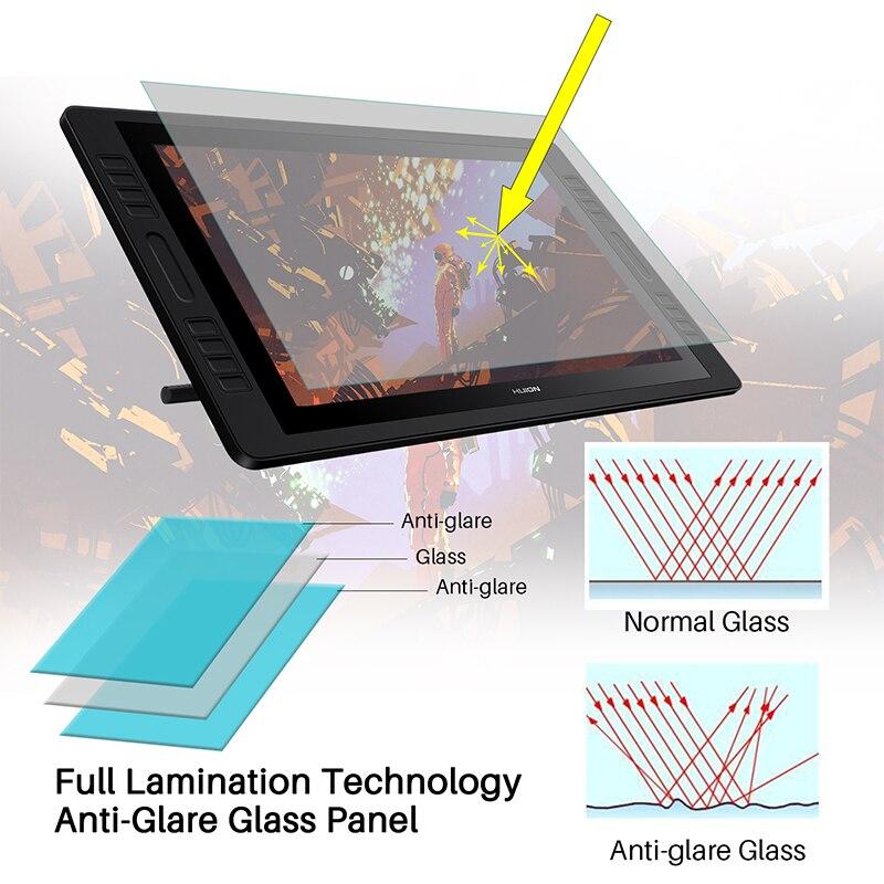 Image 3 - KAMVAS Pro 20 2019 Version 19.5 Inch Pen Display Digital Graphics Drawing Tablet Monitor IPS HD Pen Tablet Monitor 8192 Levels-in Digital Tablets from Computer & Office
