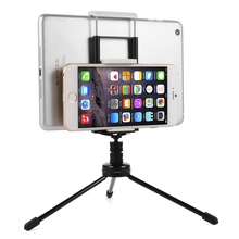 Multifunction 2in1 Tripod Stand Bracket Holder Clip Mount For Phone Tablet AC339