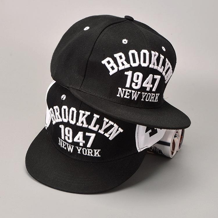 1947 Brooklyn Style Baseball Cap Sport Hat Gorras Planas Snapback
