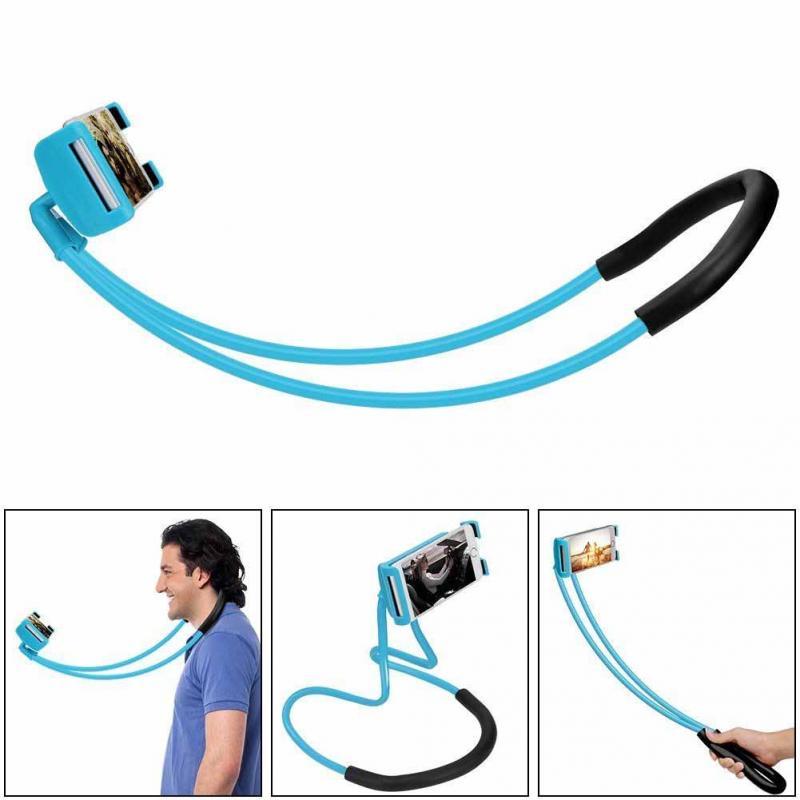 2018 Lazy cuello colgante teléfono Stands collar celular soporte para Samsung soporte Universal para iphone