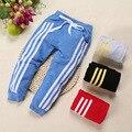 Primavera/Otoño de los nuevos niños ropa de las muchachas de la moda de ocio Haren pantalones Hip Hop pantalones de Deportes de los niños ropa