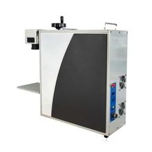 Тканевая лазерная маркировочная машина 2D динамический фокус лазерная маркировочная машина