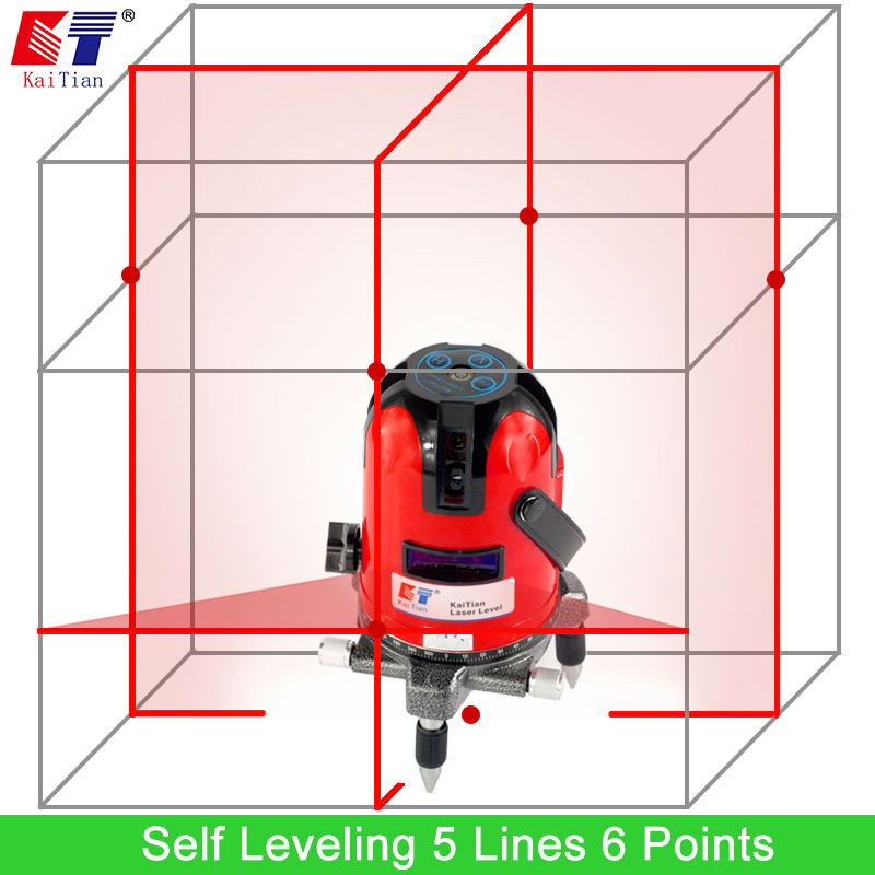 KaiTian Leveling Level with Slash Function and Outdoor 360 Rotary for Laser Leveler Laser Leveling Euro