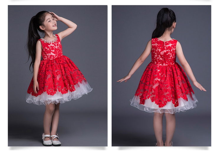 free shipping   girls   pageant   dresses   2015 new crystal   Flower     girl     dresses   for weddings hot sale first communion   dresses   for   girls
