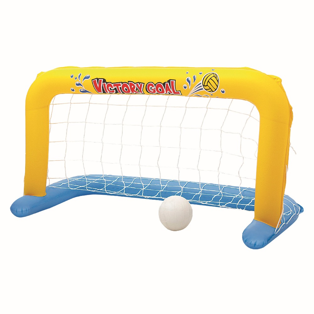 244*64cm Inflatable Swimming Pool Volleyball Goal Net With Ball Sets Football Basketball Game Water Sports Floating Party Toy