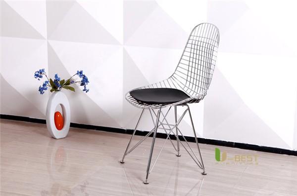 Eames Eiffel DKR Wire Chair Black-3