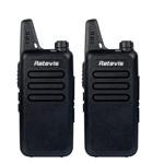2 pcs RT22 walkie talkie
