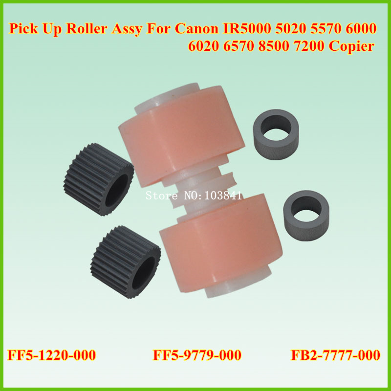Pick Up Roller Kit FB2-7777-020 FF5-9779-000 FF5-7830-000 Cassette Paper Feed Kit For Canon IR 6000 5000 5020 5050 5070 5570 ff5 4552 000 ff5 4634 000 for canon ir2200 ir2800 ir3300 pickup roller assembly