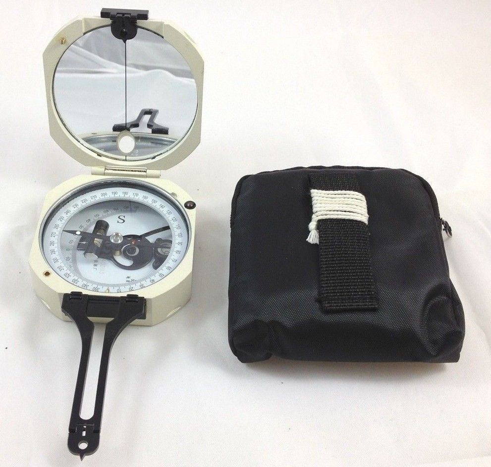 NEW DQY-3 Geology Compass . Pocket transit . metal Compass