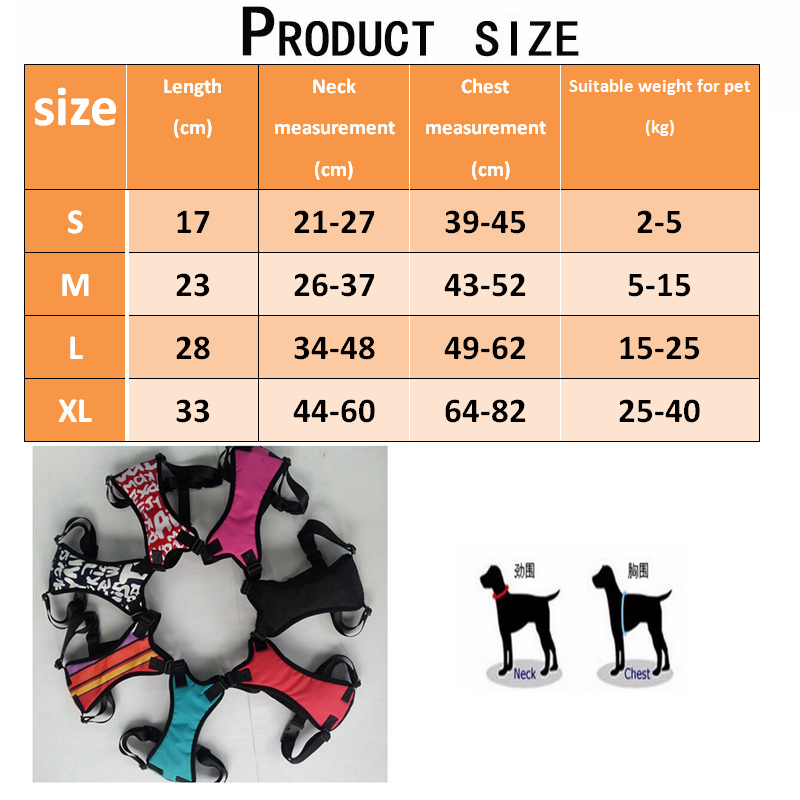 [TAILUP]Auto Dog Car Harness Safety Belt for Small Large Dogs Car Seat Belt Strap Pet Vest Chihuahua Dog Harness Leads py0005 (6)