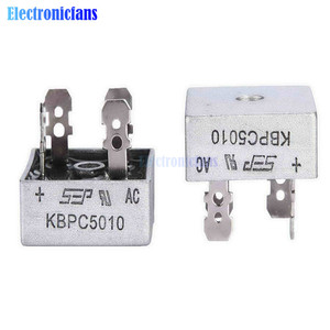 2PCS KBPC5010 Diode Bridge Rectifier Diode 50A 1000V KBPC 5010 Power Rectifier Diode Electronic Componentes
