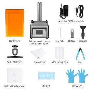 "Image 5 - ELEGOO Mars UV Photocuring LCD 3D เครื่องพิมพ์ 3.5 หน้าจอสัมผัสสี Off line พิมพ์ 4.72"" (L) x 2.68 ""(W) x 6.1"" (H)"