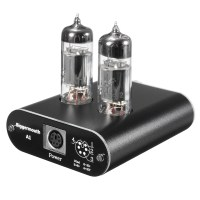 Brand New Mini 6J5 Class A Vacuum Tube Buffer Headphone Amplifier Stereo HiFi Earphone Amplifier Preamp