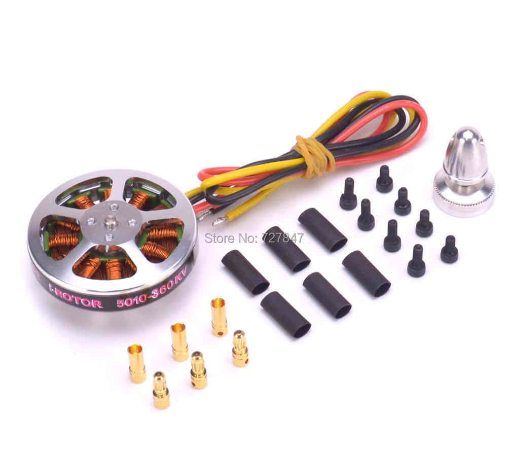 5010 360KV / 750KV High Torque Brushless Motors For MultiCopter / QuadCopter / Multi-axis aircraft