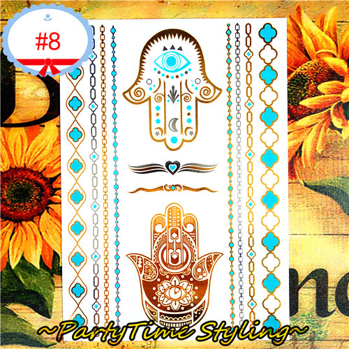 Nu Taty 24 Style Temporary Tattoo Body Art Leaf Hoist Chain Golden Designs Flash Tattoo Sticker Waterproof 21 15cm Flash Tattoo Stickers Tattoo Stickers Waterprooftattoo Sticker Aliexpress