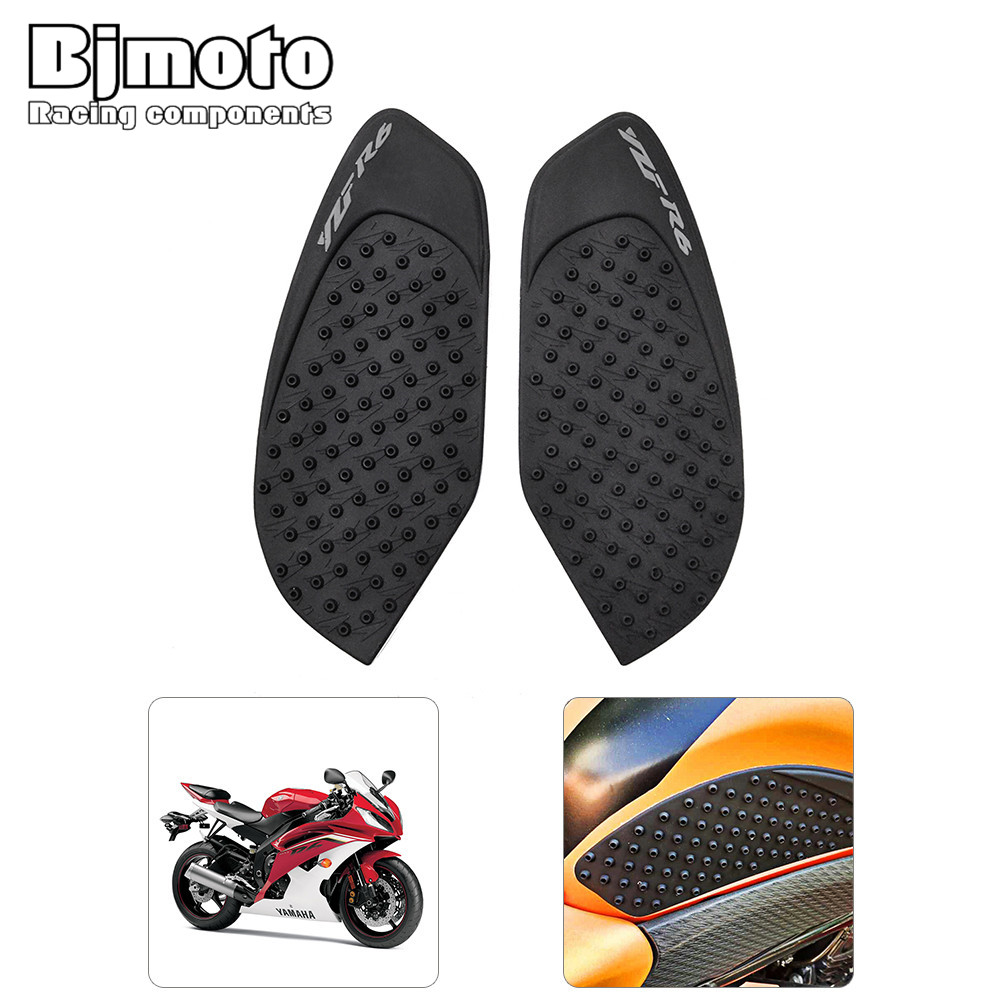 For Yamaha Yzf R6 2008-2015 2009 2010 2011 2012 2013 2014 Yzfr6 Yzf-r6 Motorcycle Gas Oil Fuel Tank Pad Protector Decal Sticker Motorbike Accessories Motorcycle Accessories & Parts