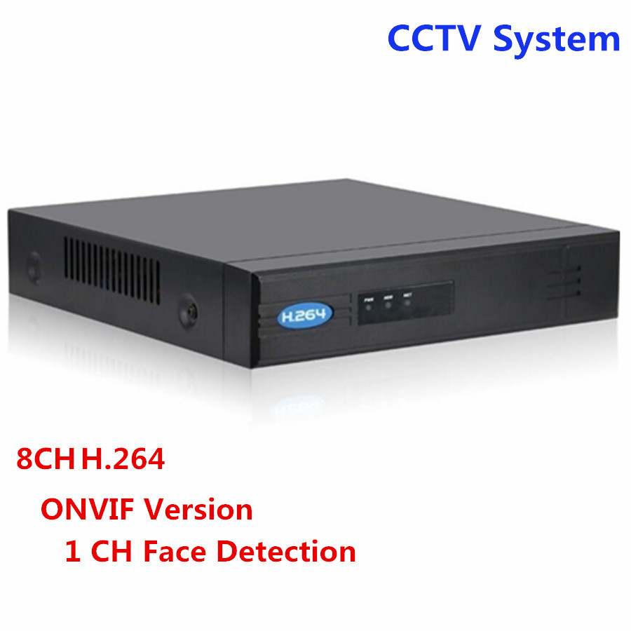 HD Security CCTV Surveillance 8CH NVR POE Video Recorder H.264 HDMI VGA Onvif Support 1 SATA HDD P2P for Security Camera System support onvif 9ch 1 5u nvr 1080p hd with vga