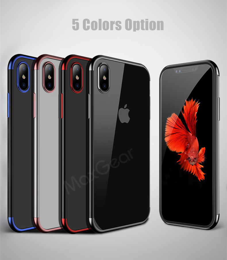 X XS max XR 6 6s 7 8 plus Silicone Case