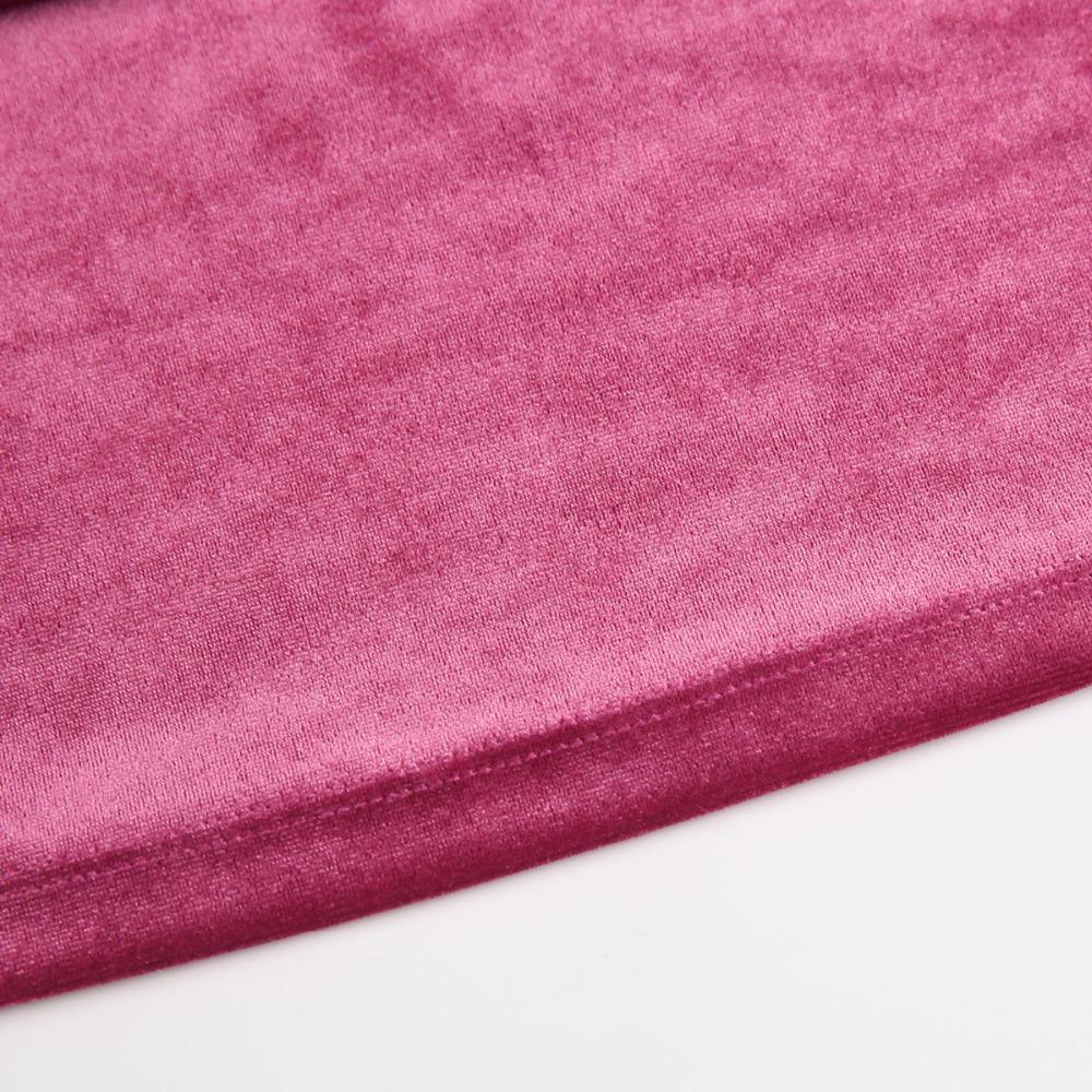 HDY Haoduoyi Women Purple Velvet Hoodies Long Sleeve Casual Sweatshirts Sweet Loose Pullovers 2017 Autumn Winter Tops Female new 14