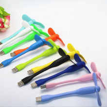 USB Fan Mini Portable Plug and Play Detachable & Adjustable Design Compatable with Any Port like Power Bank/Notebook/Lap