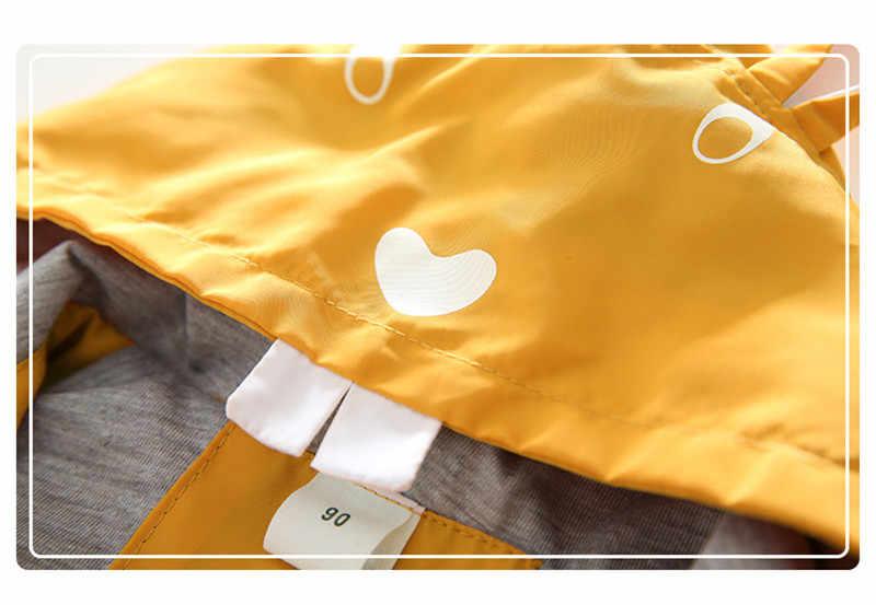 2018 nouveau printemps bébé garçon fille à capuche veste mignon souris Outwear qualité coupe-vent pour petit garçon enfants mode enfants vêtements