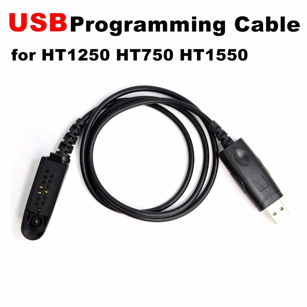 Programming Cable for HT750 HT1250 HT1550 MTX8250 MTX850 MTX9250 PRO7550 PRO9150