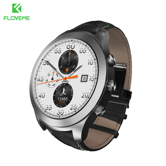 FLOVEME Smart Watch ОС Android 5.1 MTK6571 Bluetooth Smartwatch Для iPhone Samsung Huawei Xiaomi Монитор Сердечного ритма Sport Смотреть