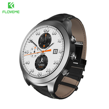 FLOVEME Smart Watch OS Android 5.1 MTK6571 Bluetooth Smartwatch For iPhone Samsung Huawei Xiaomi Heart Rate Monitor Sport Watch