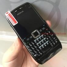 Мобильный телефон Nokia E71 3G Wifi GPS отремонтированный разблокированный Арабский Русский клавиатура