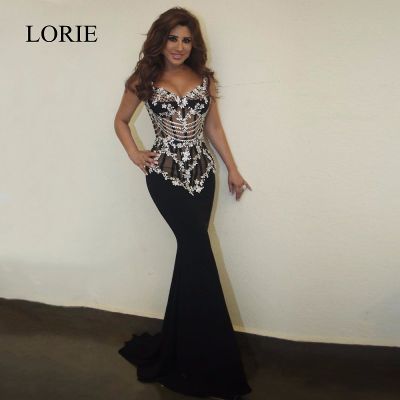 Popular Long Black Beaded Corset Prom Dress-Buy Cheap Long Black ...