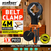 HORUSDY Adjustable Blet Clamp Woodworking Multifunction Band Polygonal Clip 90 Right Angle Fixing Wood Working Tools Clamps