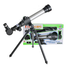Cheap price 20X/30X/40X Child Primary Astronomical Telescope High Power Outdoor Spotting Scope With Tripod Puzzle science and education