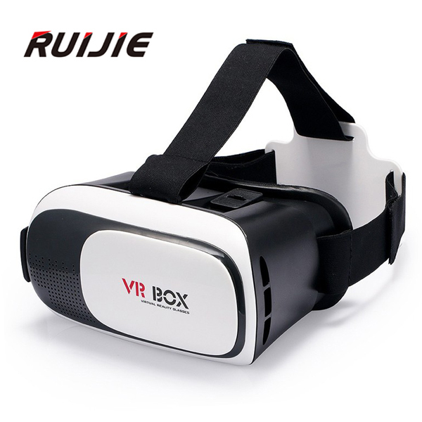 2016 New VR BOX 2.0 II Version 3D Magicbox VR Glasses Virtual Reality Google Cardboard 360 degree Panoramic for 3.5-6inch phone