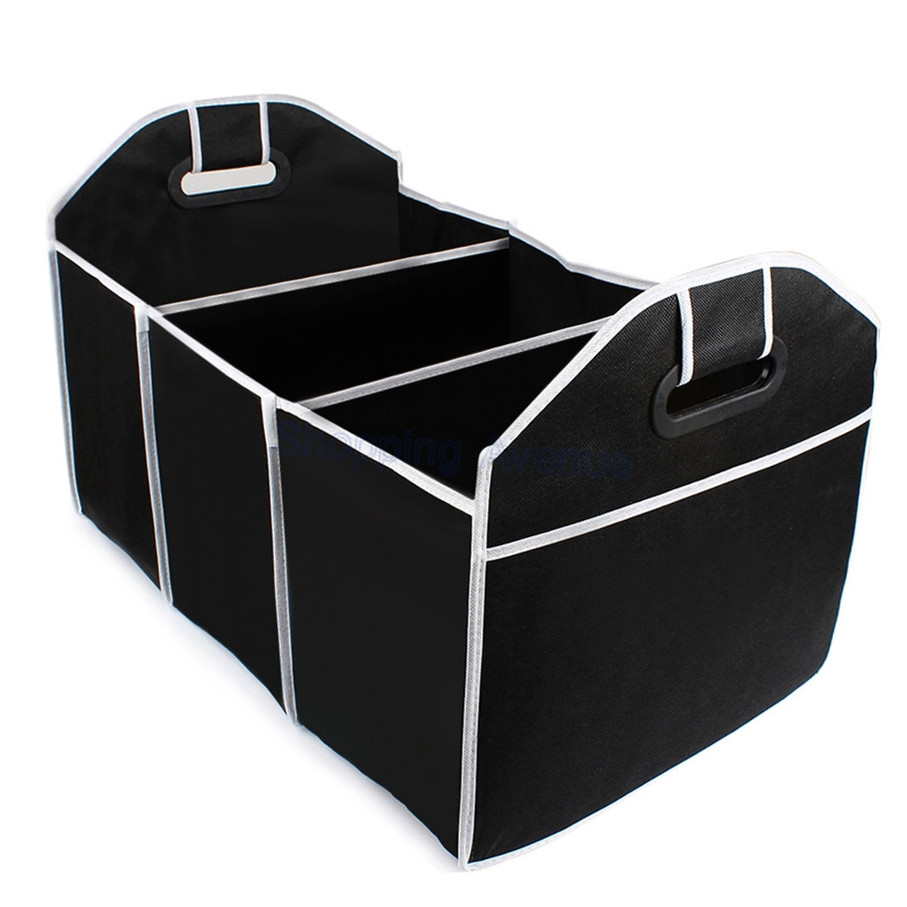 Disney Collapsible Storage Trunk Toy Box Organizer Chest: Top Quality Collapsible Car Trunk Organizer Toys Food