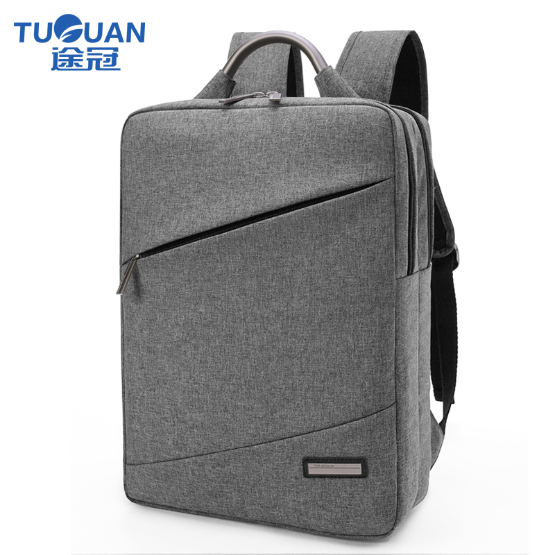 Professional Korean Simple Women Men Business Laptop Backpack For 15.6inch Computer Backpacks Notebook Shoulder Bags 4 Colors 14 15 15 6 inch flax linen laptop notebook backpack bags case school backpack for travel shopping climbing men women