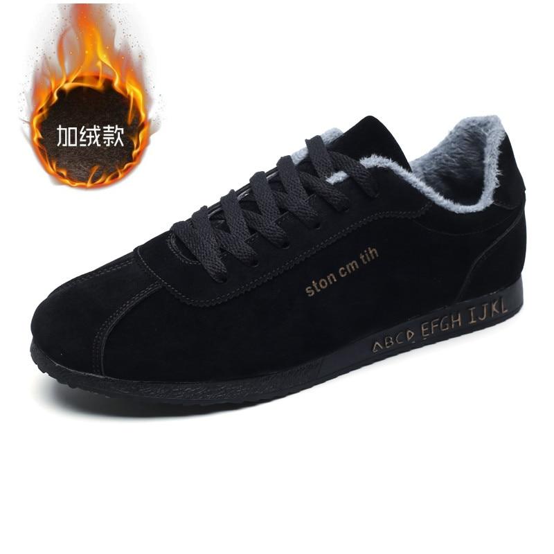 Hiver Hommes Cnfiia Vente Shoes Nouvelle Shoes Gris Noir Confortable Black Fourrure 2018 Occasionnelles Chaussures Chaude Espadrilles Des De gray Marche Chaud EgqOqd