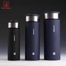 Edelstahl Tumbler Thermocup Kaffeetassen 400 ml Thermos Mode Isolierung Wasserflasche Reise Becher Isolierflaschen