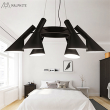 Post-modern personality pendant lights retro industrial wind lamp minimalist living room restaurant modern lighting