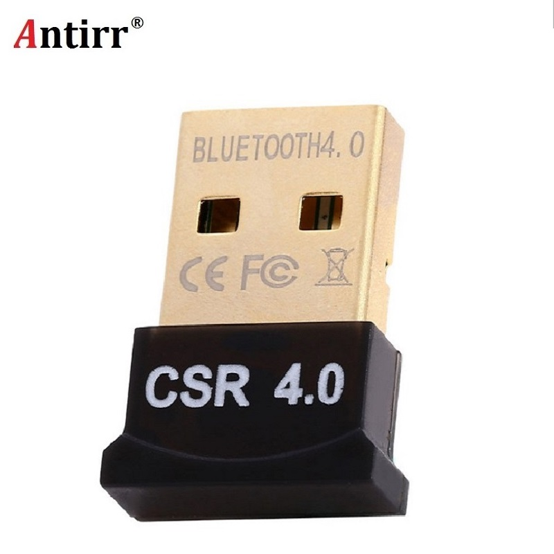 2018 New Mini USB Adapter V4.0 CSR Dual Mode Wireless Bluetooth Dongle 4.0 Transmitter For Laptop For Headset free shipping orico mini usb bluetooth 4 0 wireless dongle csr micro adapter portable receiver transmitter dual mode for windows vista golden