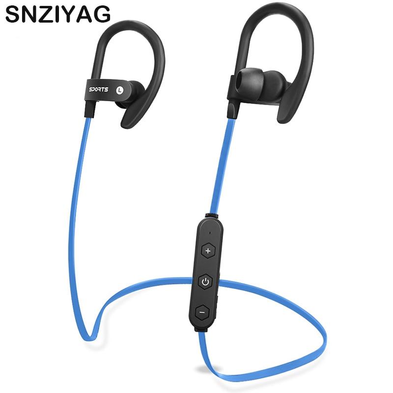 SNZIYAG LY-15 Wireless Bluetooth Earphone SportsHeadphone SweatProof Ear-Hook Earpiece Bass Headset Running Earbuds audifonos