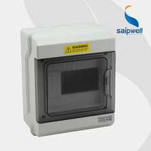 Saipwell 2014 Hot Distribution Box Indoor Distribution Box IP66 6 ways Circuit Breakers Box GDB-06 High Quality