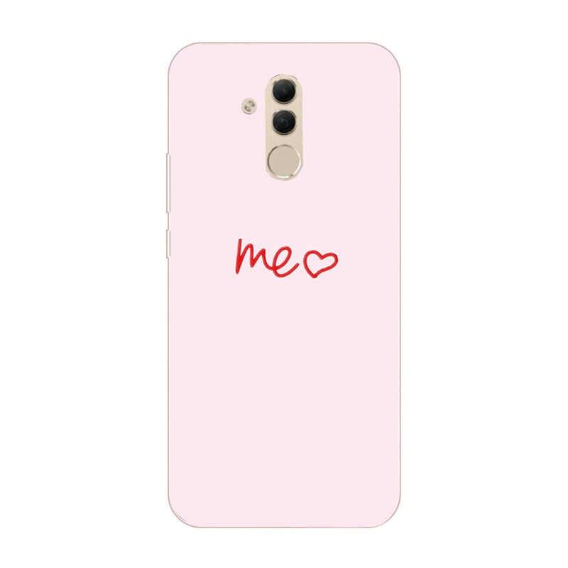 สำหรับ Huawei P30 Lite กรณีซิลิโคน TPU โทรศัพท์กลับฝาครอบสำหรับ Huawei P30 Pro Mate 20 10 Lite pro P สมาร์ท 2019 P20 Lite Capa