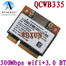 Qualcom Atheros QCWB335 WiFi Wireless + Bluetooth 4.0 mini PCI-E Card