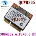 Qualcom Atheros QCWB335 wi-fi беспроводной + Bluetooth 4.0 мини-pci-e карты