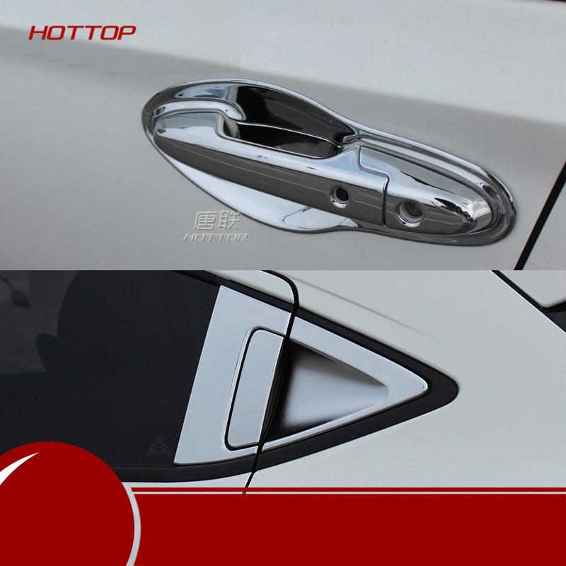 car door handle covers ABS chrome <font><b>accessories</b></font> For <font><b>Honda</b></font> <font><b>HRV</b></font> / VEZEL 2014 2015 2016 2017 2018 car styling image