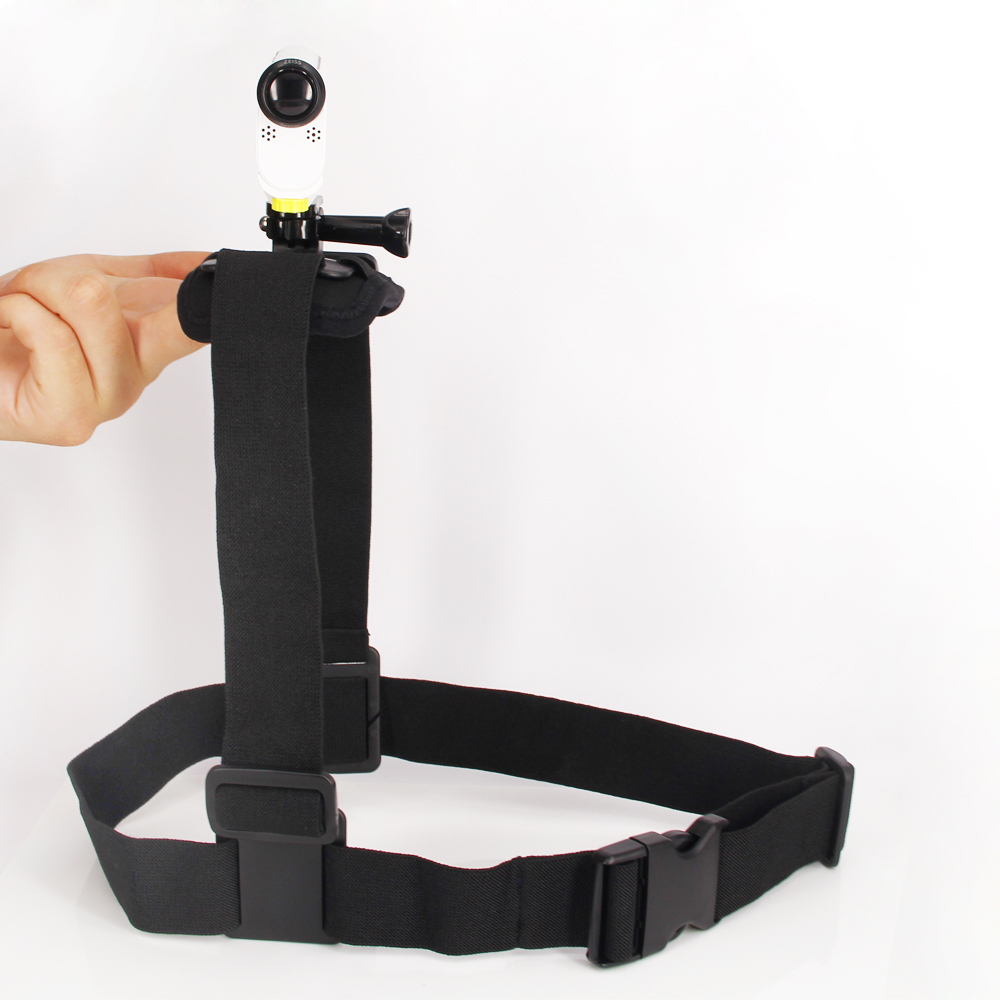 Tali Bahu Mount Dada Gunung Harness Belt Untuk aksesori aksi cam Sony untuk HDR-AS100v AS200V AS300R AS50 FER-X3000R X1000